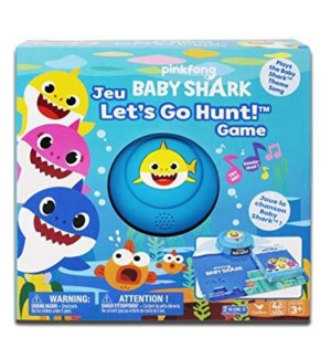 BABY SHARK - LET'S GO HUNT GAME (4) BL