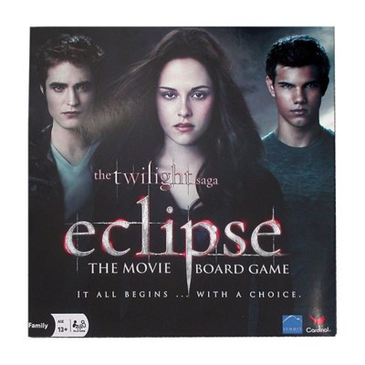 TWILIGHT ECLIPSE BOARD GAME (3)*D*