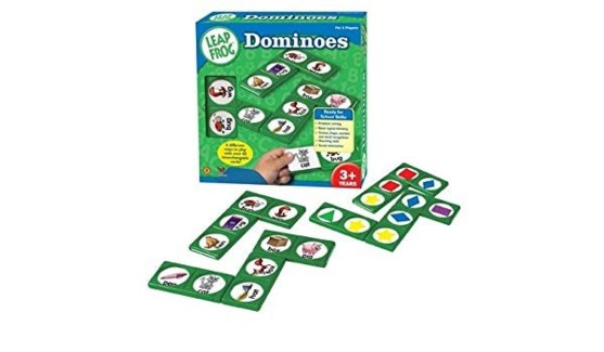 LEAP FROG DOMINOES FRENCH (4)*D*