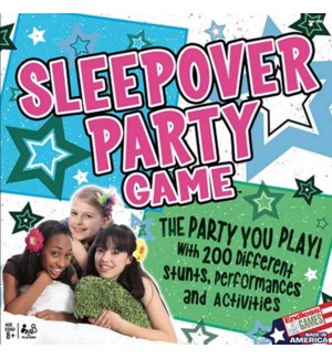 THE SLEEPOVER PARTY GAME (4)