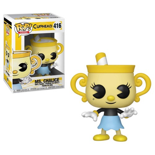 Pop Games: Cuphead S2- Ms. Chalice (6) *SD*