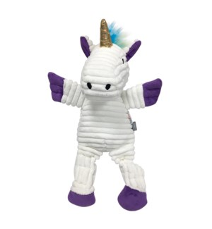 "RAINBOW BRT KNOTTED TOY-LRG (15"")-UNI(WHITE)(3)BL"