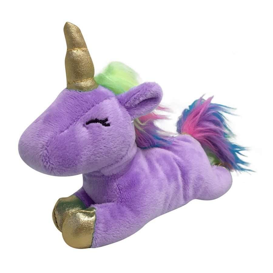 "UNICORN PLUSH TOY - LRG(16"") - LILAC (3)BL"