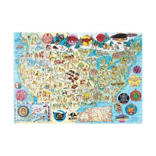 NATIVE LANDS (MAP) 300 PCS.*D*