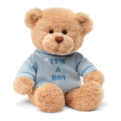 "T-SHIRT BEAR - ITS A BOY 12"" (6) BL"