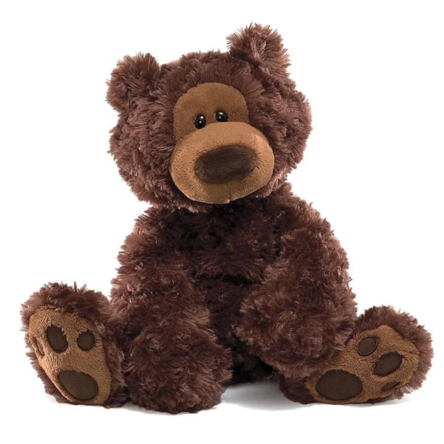 "BEAR - PHILBIN CHOCOLATE 12"" (3) BL"
