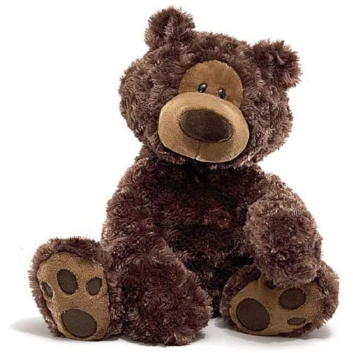 "BEAR - 18"" PHILBIN CHOCOLATE (2) BL"
