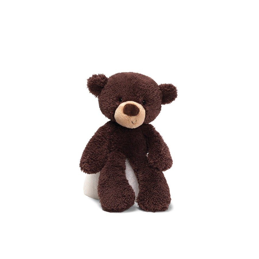 "BEAR - FUZZY CHOCOLATE 13.5"" (4) BL"