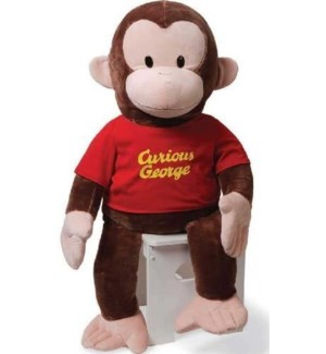 "CURIOUS GEORGE - RED SHIRT 36"" (1) BL"