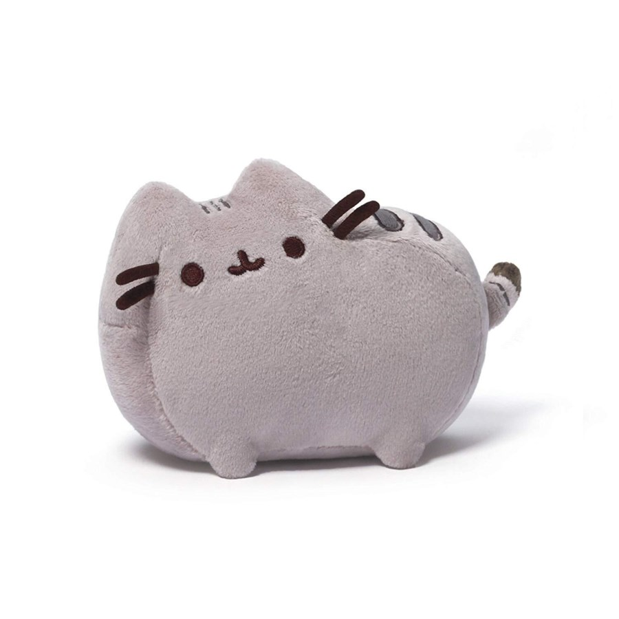 "PUSHEEN - GREY 6"" (6) BL"