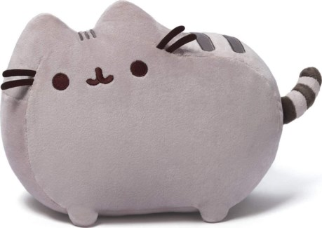 "PUSHEEN - GREY 12"" (4) BL"