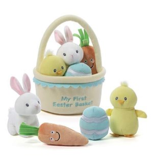 "EASTER - MY FIRST EASTER BASKET PLAYSET 9"" (2) BL"