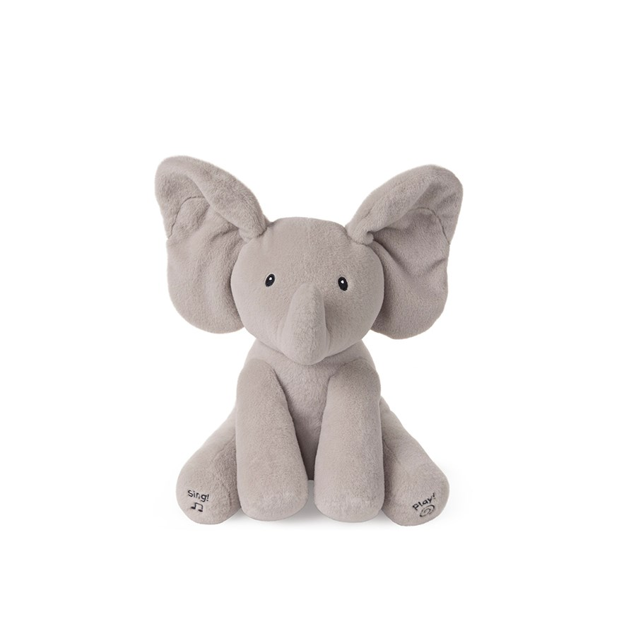 "BABY - ANIMATED FLAPPY THE ELEPHANT 12"" (2) ENG"