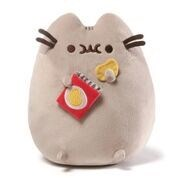 "PUSHEEN - POTATO CHIPS 9.5""  (4) BL *SD*"