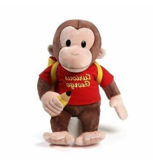"CURIOUS GEORGE - WITH BACKPACK 16"" (2) BL"
