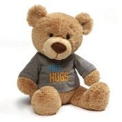 "T-SHIRT BEAR - FREE HUGS 12.5"" (4) BL"