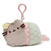 "PUSHEEN - MERMAID BPK CLIP 5"" (6) BL *SD*"