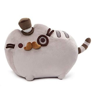 "PUSHEEN - FANCY 12.5""  (4) BL *SD*"