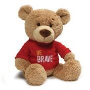 "T-SHIRT BEAR - BE BRAVE 12.5"" (4) BL"