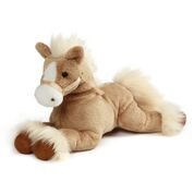 "EARTH, SEA & SKY - FANNING PALOMINO HORSE LAYING 12"" (4) BL"