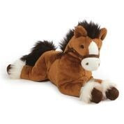 "EARTH SEA  SKY - FANNING BAY HORSE LAYING 12"" (4) BL"