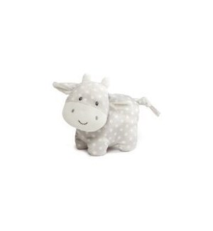 "BABY - ROLY POLY  COW 6"" (4) BL"