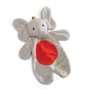 "BABY - FLAPPY ACTIVITY LOVEY 11.5"" (4) BL"