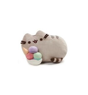 "PUSHEEN - SNACKABLE SUNDAE 12"" (4) BL"