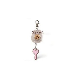 "PUSHEEN - RETRACTABLE KEYCHAIN 2.5"" (6) BL *SD*"