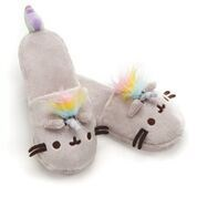 "PUSHEEN - PUSHEENICORN SLIPPERS 12"" (2) BL"