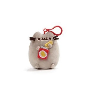 "PUSHEEN - BPK CLIP POTATO CHIP 5"" (4) BL"