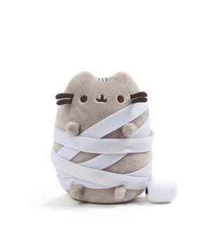 "HALLOWEEN - PUSHEEN MUMMY 5"" (6) BL"