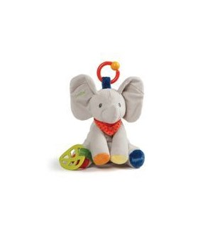 "BABY - FLAPPY ACTIVITY TOY 8.5"" (4) BL"