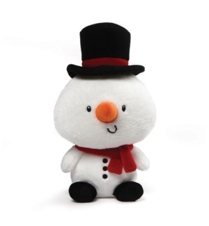 CHRISTMAS - CHILLY SNOWMAN 11' (4) BL