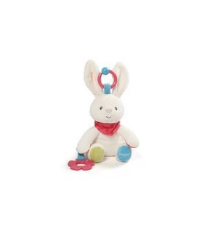 "BABY - FLORA ACTIVITY TOY 8.5"" (4) BL"