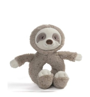 BABY - TOOTHPICK  SLOTH RATTLE (6) BL