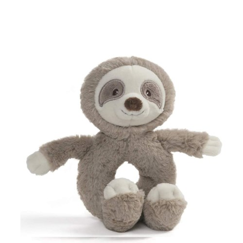 "BABY - TOOTHPICK  SLOTH RATTLE 12"" (6) BL"