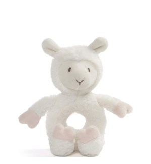 BABY - TOOTHPICK  LLAMA RATTLE (6) BL