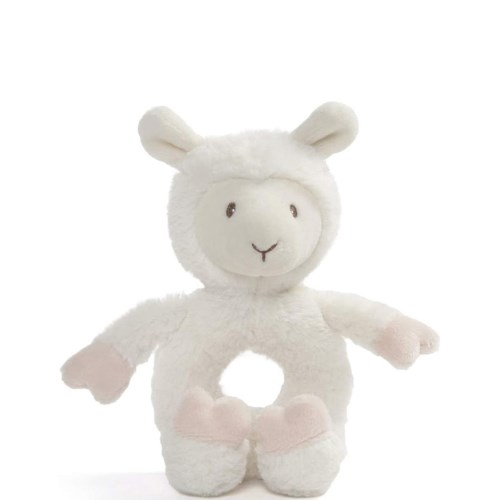 BABY TOOTHPICK - LLAMA RATTLE (6) BL *S20*