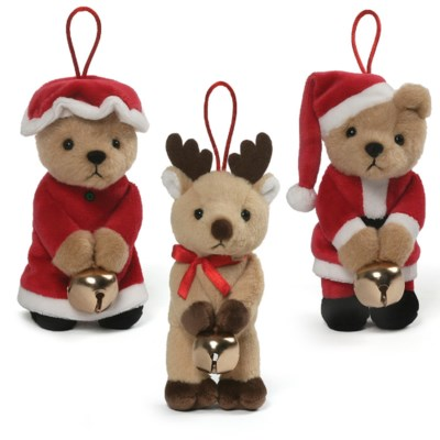 "CHRISTMAS - JINGLE ORNAMENT 5.5"" 12ASST (12) BL"