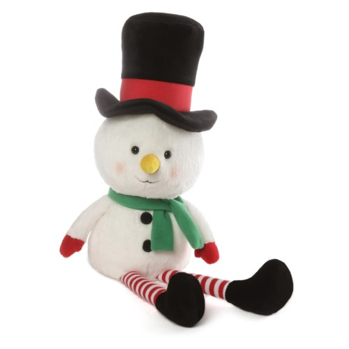TOPS THE SNOWMAN W/ STRIPED LEGS (4) BL