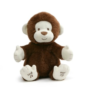"BABY - CLAPPY ANIMATED MONKEY 12"" (2) ENG"