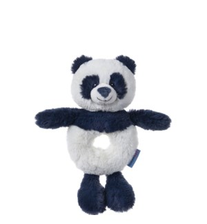 "BABY - TOOTHPICK PANDA RATTLE 7.5"" (6) BL"
