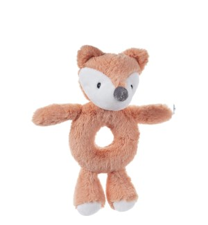 "BABY - TOOTHPICK FOX RATTLE 7.5"" (6) BL"