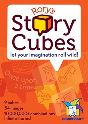 RORYS STORY CUBES W/DISP.(8)*SD* CHANGING TOO ASM RSC01
