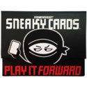 SNEAKY CARDS W/DISPLAY (8)