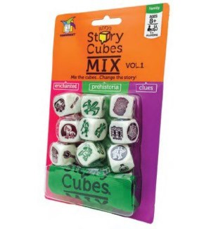 RORY'S STORY CUBES MIX PEGABLE (8)*SD*