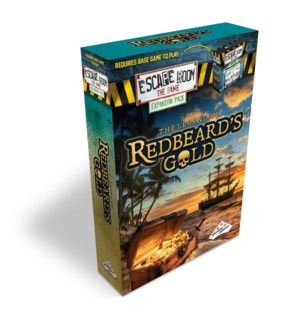 ESCAPE ROOM REFILL REDBEARDS GOLD (8)