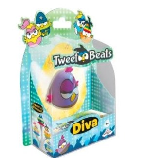 TWEET BEATS SINGLE BIRD-DIVA(6)