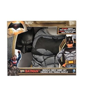 BATMAN MUSCLE CHEST SHIRT BOX SET (4)*NEW NUMBER*